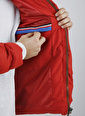 XHAN Hardal Kapüşonlu Comfort Slim Fit Şişme Mont 0Yxe4-44076-37 Kırmızı